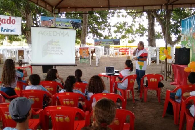 10ª Agrofeira de Bacabal recebe o Projeto Fazendo Educação