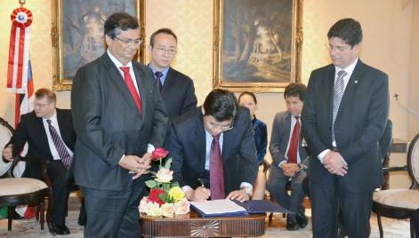 Acordo entre China e Maranhão