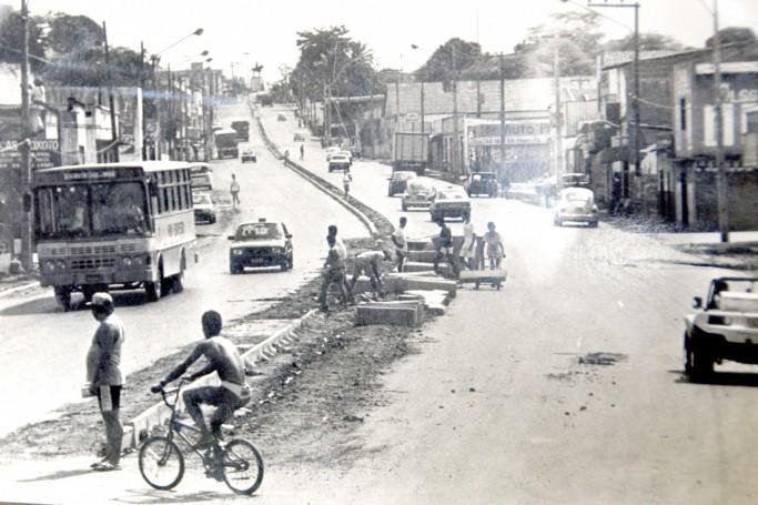 Avenida Kennedy em 1991
