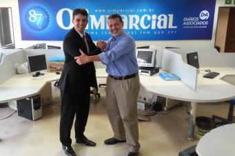 Charles Diaz e Tiago Dias