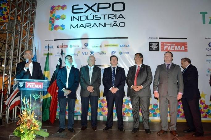 Abertura da Expo Indústria