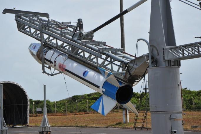 Centro de Lançamento de Alcântara realiza teste com foguete