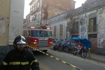 Incêndio prédio da Seplan