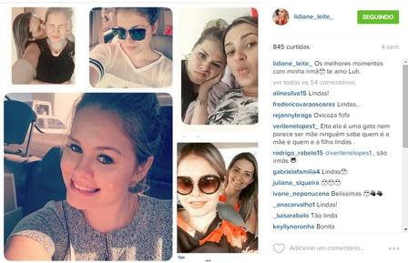 Lidiane Leite volta a chamar atenção por postagens nas redes sociais