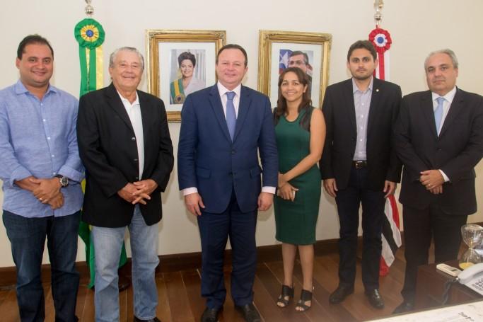 O vice-governador Carlos Brandão assumiu o comando do Estado nesta segunda-feira, dia 04, por ocasião de afastamento temporário do governador Flávio Dino