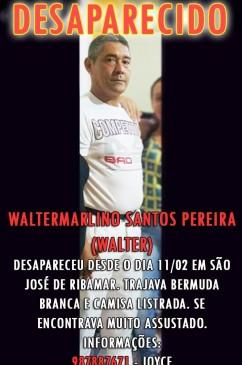 Walter - Bombeiro - Salva-Vidas