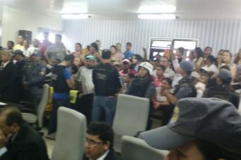 Sessão extraordinária Câmara Municipal de Santa Inês