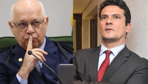 Teori Zavascki e Sérgio Moro