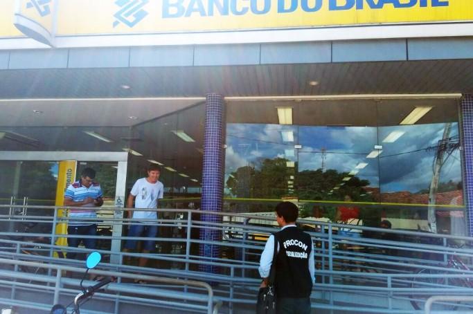 Agência fiscalizada pelo Procon no município de Porto Franco