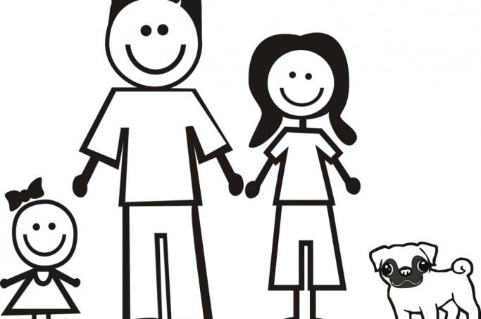 familia desenho