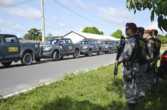 Força Nacional chega a São Luís
