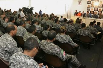 Coletiva sobre atuação da Força Nacional em São Luís