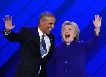 Obama descreveu sua Hillary como uma l�der determinada que escuta as pessoas