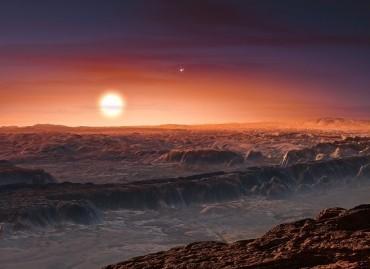 Exoplaneta Proxima B (ESO/M. Kornmesser)