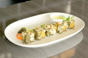 Sushi de cuxá, uma experiência que deu certo.