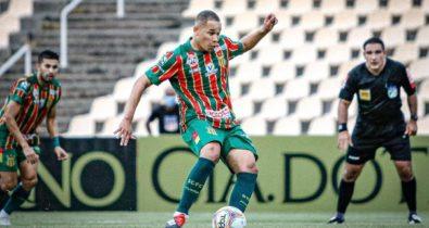 Com proposta do exterior, Caio Dantas não viaja para duelo contra Botafogo-SP