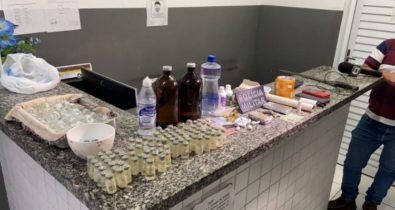 Homem é preso em flagrante com cocaína e maconha em Bacabal