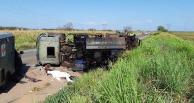 Militar morre em acidente grave  na BR-135